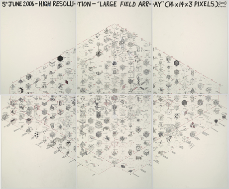 Keith Tyson, Large Field Array